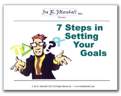 7 Steps in Setting Your Goals 10 Sets